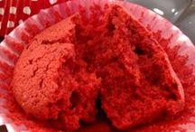 Red! by dulcis in fundo / Cupcakes torte e delizie caratterizzate da un tocco di rosso!