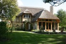 From the outside / A selection of exterior images of our bespoke oak framed homes