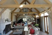 The family room / A selection of images of oak framed lounges to inspire