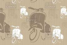 Nuove carte da parati / ABC Decò   Collezione 2014 New series Carte da parati a pattern e con fantasie vettoriali. Carta da parati modulare riproducibile su pareti lunghe.  La nuova carta da parati con grafiche moderne, originali ed esclusive. Tutte le grafiche sono completamente personalizzabili in base ai propri gusti e all'ambiente.