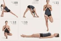 Yoga Poses / Learn and see some of the best poses and how to do them!
