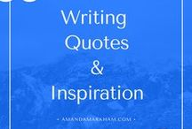 WRITING | Quotes & Inspiration / Inspiration for writers