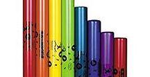 Instrumentos Musicales para niños / Instrumentos colores chromanotes y boomwhackers