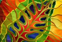 stained glass and geometrics                / by Cathy Wheelock Caster