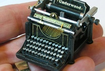 typewriters / by Cathy Wheelock Caster