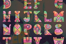 alphabets / by Cathy Wheelock Caster