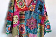 Pletení a háčkování / Knitting and crocheting