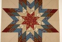 Le Moyne Star / Lone Star,8-pointed Star,Star of Betlehem