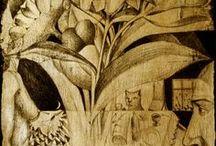 MY WORK.Lumea si florile intre noi/ The world and flowers between us / Despre iubire, singuratate, incercarile de apropiere si lucrurile care ne despart, barierele, dintre oameni. Despre cuplu si singuratatea in doi./About love, loneliness, attempts to close and things that  separates us