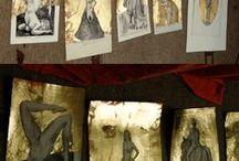 Picturi si desene stralucitoare-2/Paintings and drawings glowing-2 / Picturi si desene stralucitoare, cel putin la modul propriu...