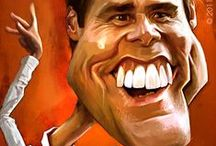 Celebrity Caricatures in various art forms / Caricatures of the rich and famous in various art forms for our enjoyment.
