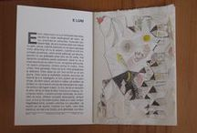 MY WORK.Carte bibliofila/Bibliophile book/ Livre bibliophile / Carti facute, legate si copertate manual cu gravuri originale sau desene in diferite tehnici grafice