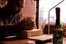 Carte bibliofila 2 munca/Bibliophile book 2 the work/ Livre bibliophile 2 l' oeuvre / Carti facute, legate si copertate manual cu gravuri originale sau desene in diferite tehnici grafice. Imagini aranjate sub forma de tutorial
