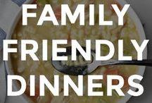 GOOD FAMILY DINNER RECIPES / Good family dinner recipes and ideas.  // family friendly recipes // family dinner ideas // family dinner ideas on a budget // healthy family dinner ideas // recipes for the whole family // family dinner recipe ideas // family friendly meal ideas //