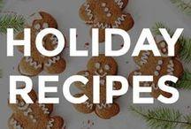 HOLIDAY RECIPES / Adorable holiday food recipes and ideas.