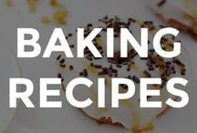 BAKING RECIPES / Gorgeous and tasty baking recipes and ideas.  // homemade baking recipes // easy baking recipes // easy cake recipes // easy cookie recipes // baking recipe ideas // baking recipes // baking recipes desserts // baking recipes easy // baking recipes from scratch //