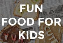 FUN FOOD IDEAS FOR KIDS / Cute ideas and recipes for fun kids food.  // kid friendly food // kid friendly recipes // recipes for kids // what to feed picky eaters // fun food for kids // recipe ideas for kids // fun recipes for kids //