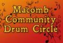 Macomb Community Drum Circle / For those interested in participating in a community drumming circle in Macomb, Illinois. / by Heather McMeekan