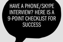 Phone Interviewing / Tips and techniques to ace your phone interview! / by Webster University Career Planning & Development Center