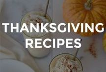 THANKSGIVING RECIPES / The best classic Thanksgiving recipes and dishes.  // easy thanksgiving recipes // homemade thanksgiving recipes // what to eat for thanksgiving // thanksgiving recipe ideas // recipes for thanksgiving // meal ideas for thanksgiving //