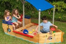 Kool Kids Home & Toys / From stylish Teepees & bunk beds to outdoor sandboxes & hanging tents.