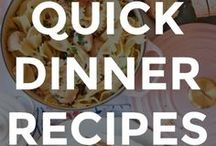 QUICK DINNER RECIPES / We love simply and quick dinner recipes and ideas! Have an amazing dinner recipe that you want to share with the world? PLEASE POST ORIGINAL RECIPES FROM YOUR BLOG OR OTHER HIGH QUALITY FOOD BLOGS THAT TAKE 30 MINUTES OR LESS TO MAKE. No recycled content or partial recipes. Only pin vertical (tall) images that are well-styled, pin no more than 3 consecutive pins, and share the title of the recipe and blog name in the caption. Thanks!