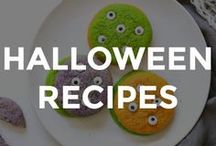 HALLOWEEN RECIPES / Simple Halloween recipes for the family.  // halloween recipe ideas // recipes for halloween // fun halloween recipes // halloween themed recipes // spooky recipe ideas // fun recipes for halloween //