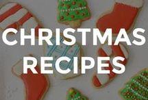 CHRISTMAS RECIPES / Festive and easy Christmas recipes for the family.  // Christmas recipe ideas // recipes for Christmas // Christmas themed recipes // fun Christmas recipes // fun recipes for Christmas //