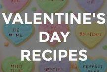 VALENTINE'S DAY RECIPES / Cute Valentine's Day recipes for the family.  // Valentine's Day recipe ideas // recipes for Valentine's Day // Valentine's Day themed recipes // fun Valentine's Day recipes // fun recipes for Valentine's Day //