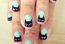 nails. / by ɖ.*
