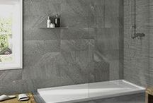 Bathroom Wall Tiles / We have an extensive range of bathroom tiles available within our website or instore. As you can see we have many different sizes, colours and tile surfaces.