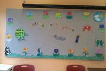 My Chidren's Room/Program Room Bulletin Board Displays / the displays I created