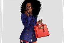 [MY WORK] Fashion / Fashion illustrations. http://mad-smile.blogspot.fr/