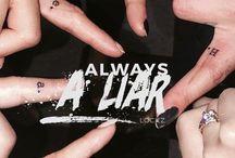 Pretty Little Liars / A TV series