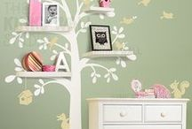 Home - little girls room / Decoration ideas for your little girls bedroom. Wallpaper ideas, wall art, furniture ideas, room accessories and themes.