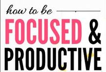 Productivity Tips / Productivity for moms and millennials who want to work from home.