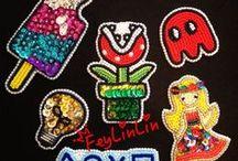 My bead embroidery (Мои бисерные вышивки) / My beadwork ||||  Мои вышитые броши и другие бисерные красивости