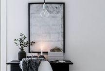 Interior design / Interior design inspiration Scandinavian modern clean white