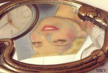 MUNDO ESPEJO / espejos antiguos, vintage, espejos de mano, espejos sol