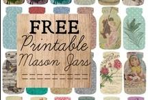 Mason Jar Printables / by Mason Jar Crafts {love!}