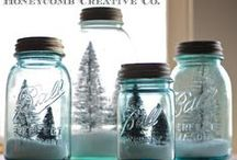 Mason Jar Holidays: Christmas