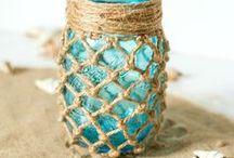 Mason Jar Summer Inspiration / by Mason Jar Crafts {love!}