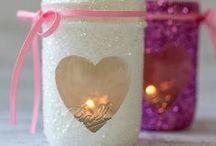 Mason Jar Holidays: Valentine's Day / by Mason Jar Crafts {love!}