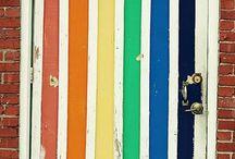 Stripes and Checks / #Stripes and #checks #inspiration, design, #fabrics and more...