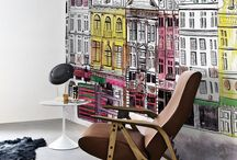 Wallpapers & Decoration / #Contemporary #Paints #colours and #Wallpapers #designs .....for modern living!