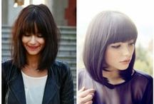 The Lob (Long Bob) / A Board for Lob Hairstyles also known as The Long Bob