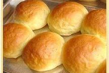 """Receitas - Pães&Biscoitos / """"Um pedaço de pão comido em paz é melhor do que um banquete comido com ansiedade.""""  ―Esopo"""