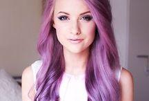 Purple Hair Color Ideas / Purple Hair Color Ideas