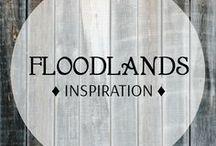 "Floodlands / Inspiration board for my Steampunk-Crime-Series ""Floodlands"""