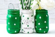 Mason Jar Holidays: St. Patrick's Day / Mason Jar Craft, Recipe, Decor Ideas for St. Patrick's Day